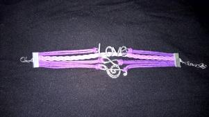 Love wrap bracelets